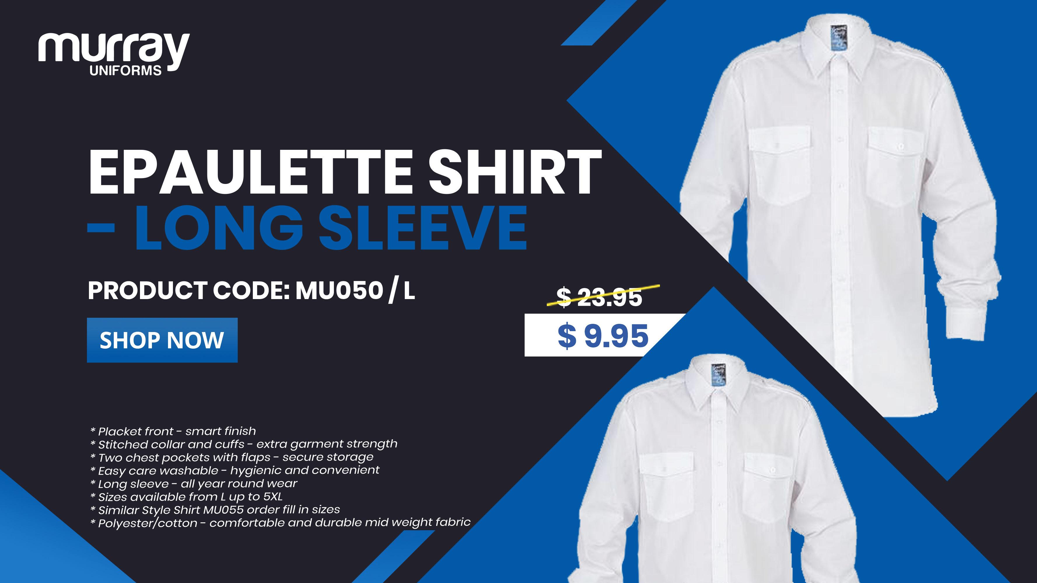 Pilot Shirts with Epaulets