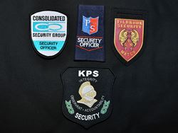 Badges - Embroidered