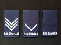 Embroided Rockingham Epaulette