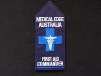 Medical Edge Navy Epaulette