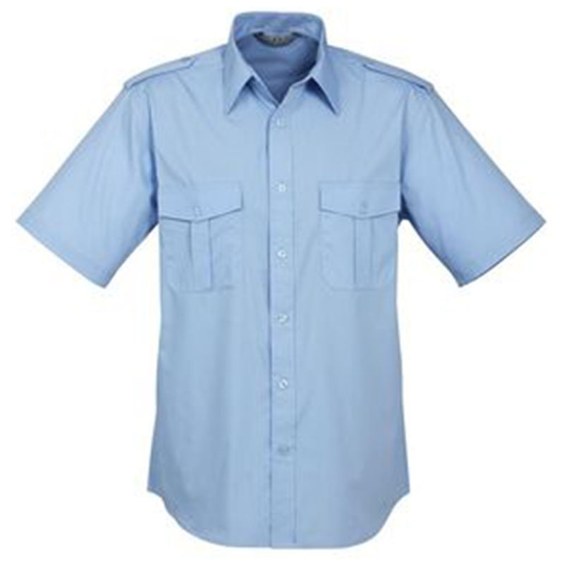 Australian Cotton Rich Shirt Sky Blue