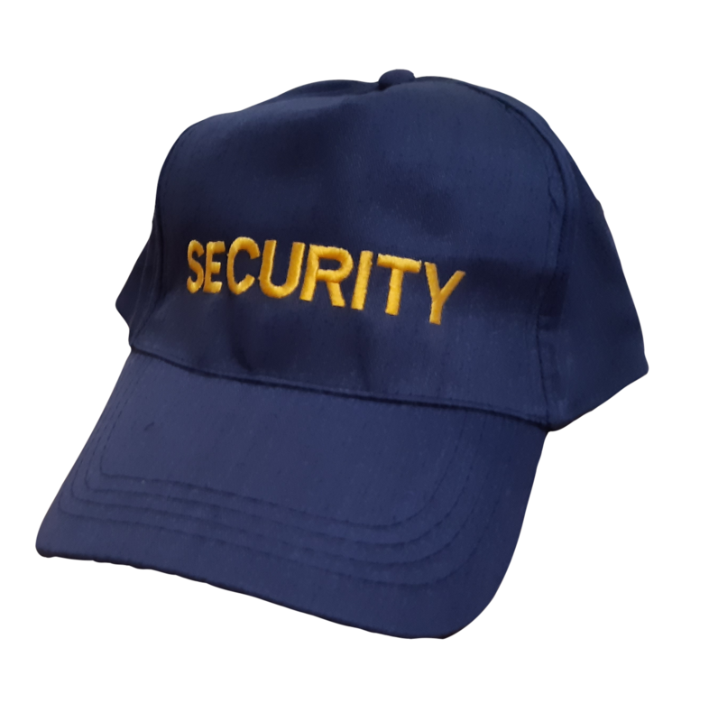 Baseball Cap PolyCotton   Security Yellow