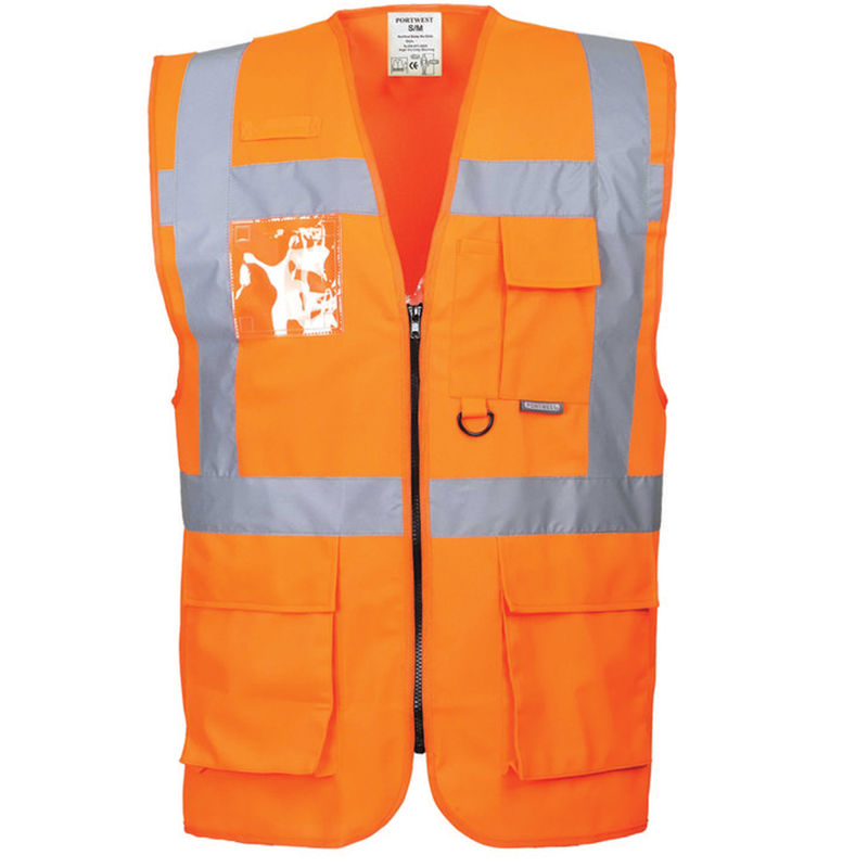 Berlin Executive Vest Orange