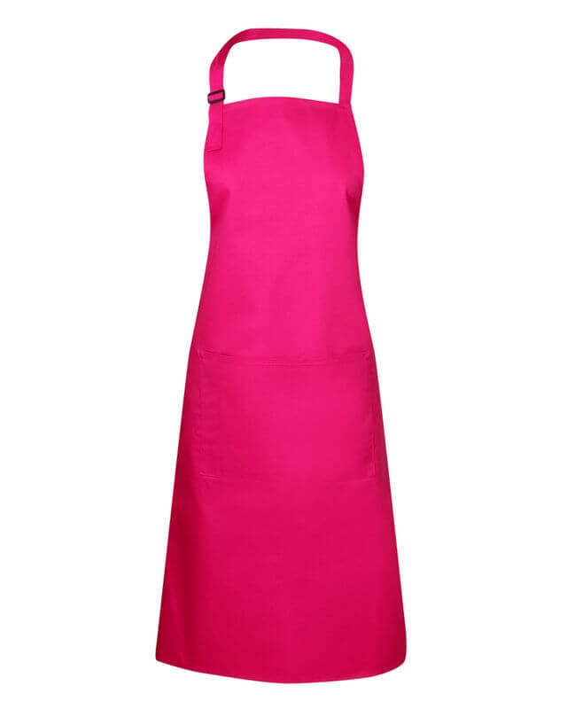 Bib Apron Hot Pink from Murray Uniforms AU