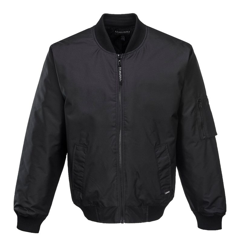 Bomber Jacket Waterproof Black from Murray Uniforms