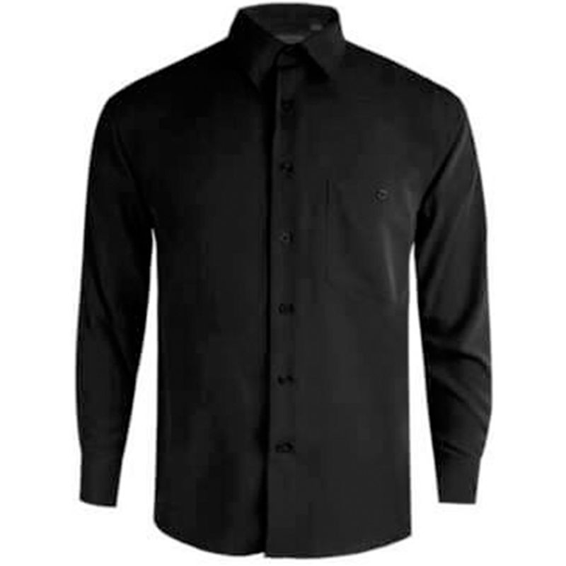 Business shirts  Microfibre Black