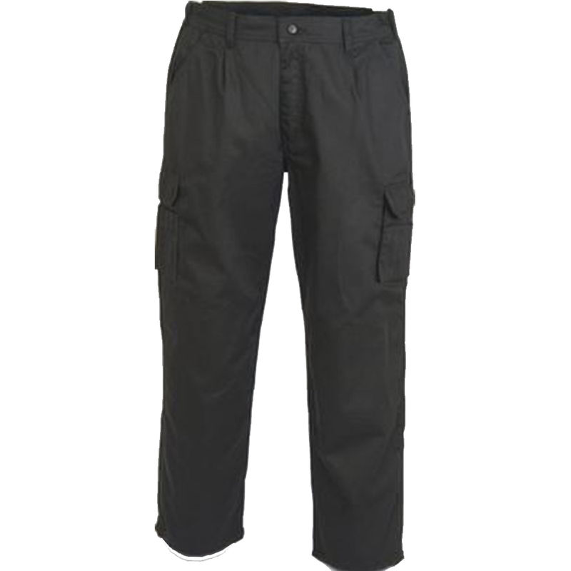 Combat Cargo Trousers Black
