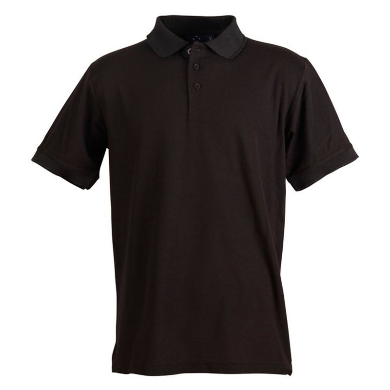 Connection Polo Menand39s Black