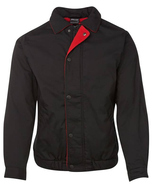 Contrast Jacket Black/Red