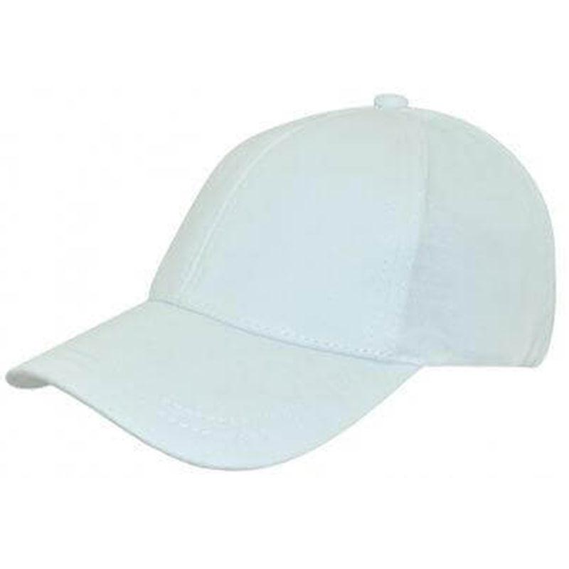 Cool Dry Caps   Anti fade White