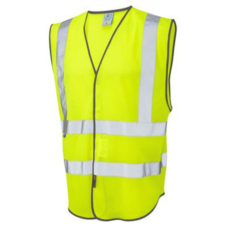 Coolviz Vest Yellow/Grey