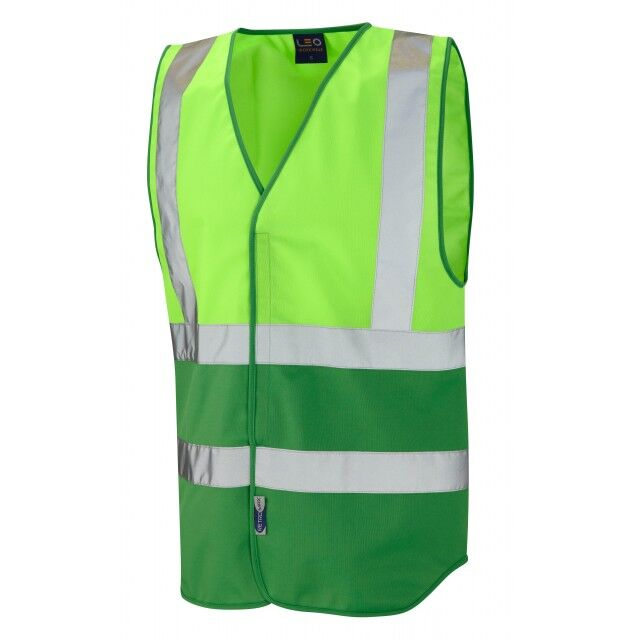 Covid Hi Vis Vest Lime/Green