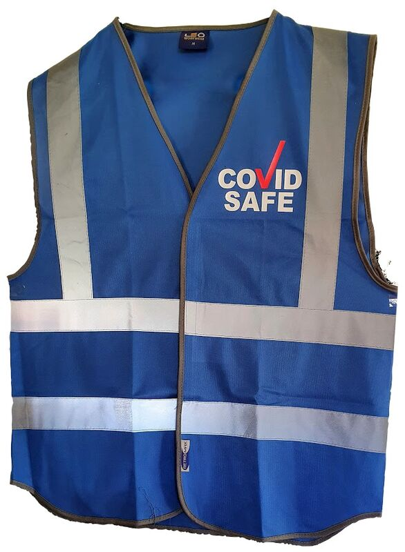 Covid Safe Vest Front