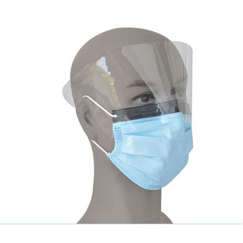 Disposable Face Mask with Shield