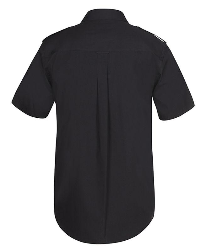 Epaulette Shirt SS Black