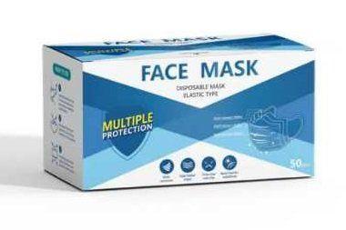 FACE MASKS 50 PCS  BOX