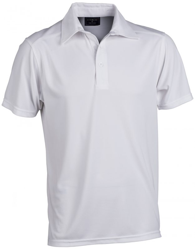 GLACIER 1054 MENS SS POLO White