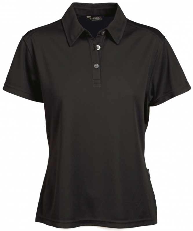 Glacier Ladies SS Polo Black