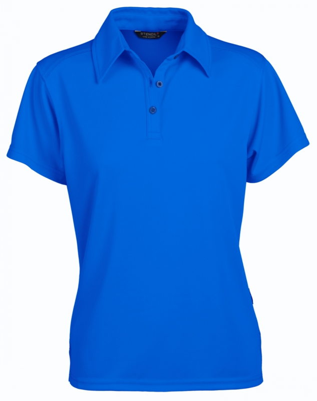 Glacier Ladies SS Polo Ocean Blue