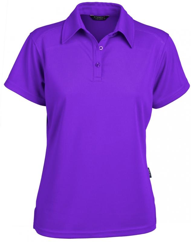 Glacier Ladies SS Polo Purple