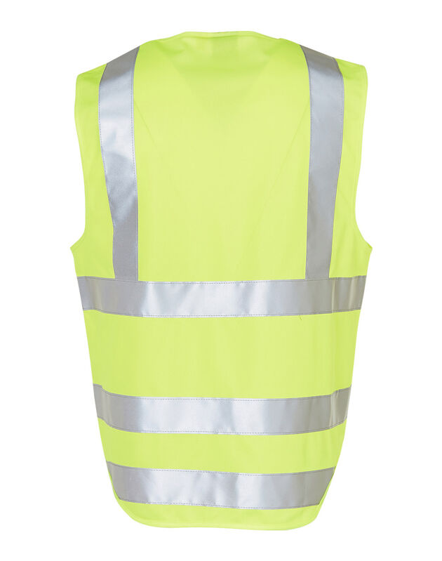 HiVis Safety Vest with ID Pocket and 3M Tape Yellow