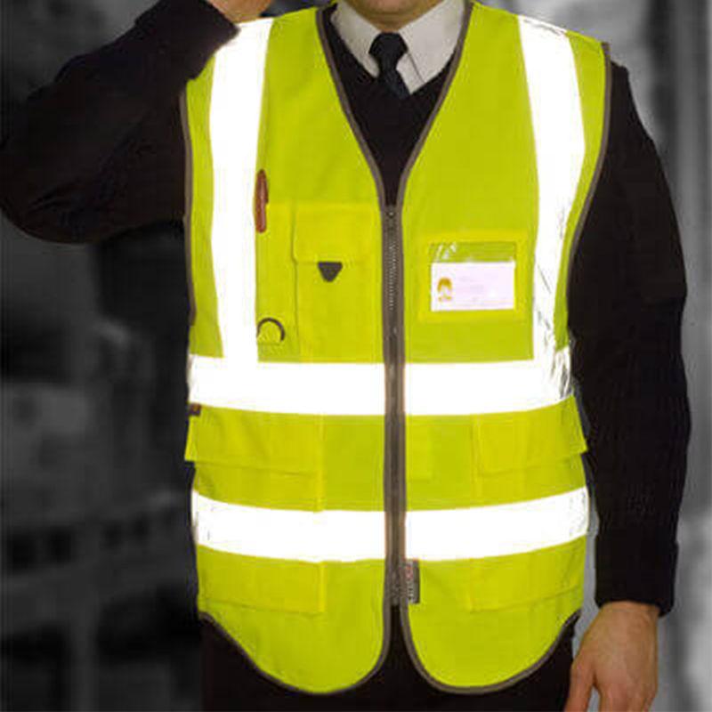 Hi Vis Superior Vest Yellow