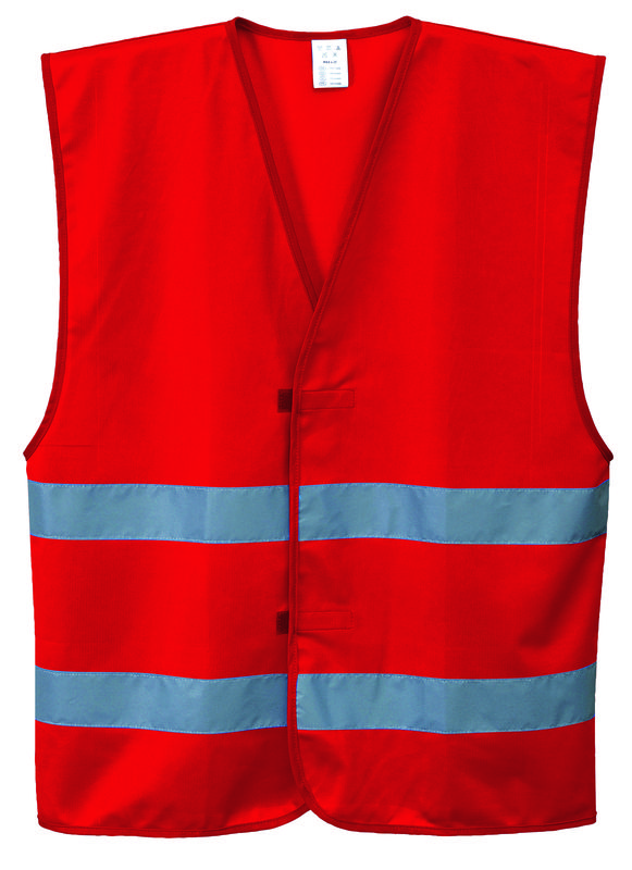 Iona Vest Lightweight Polyester Red