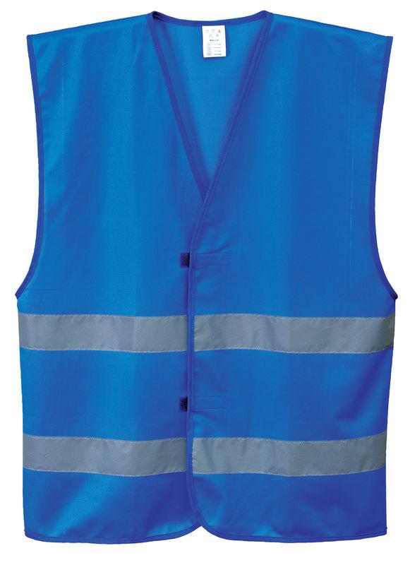 Iona Vest Lightweight Polyester Royal Blue