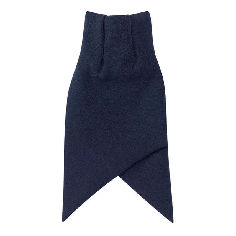 Ladies Cravat Tie Navy