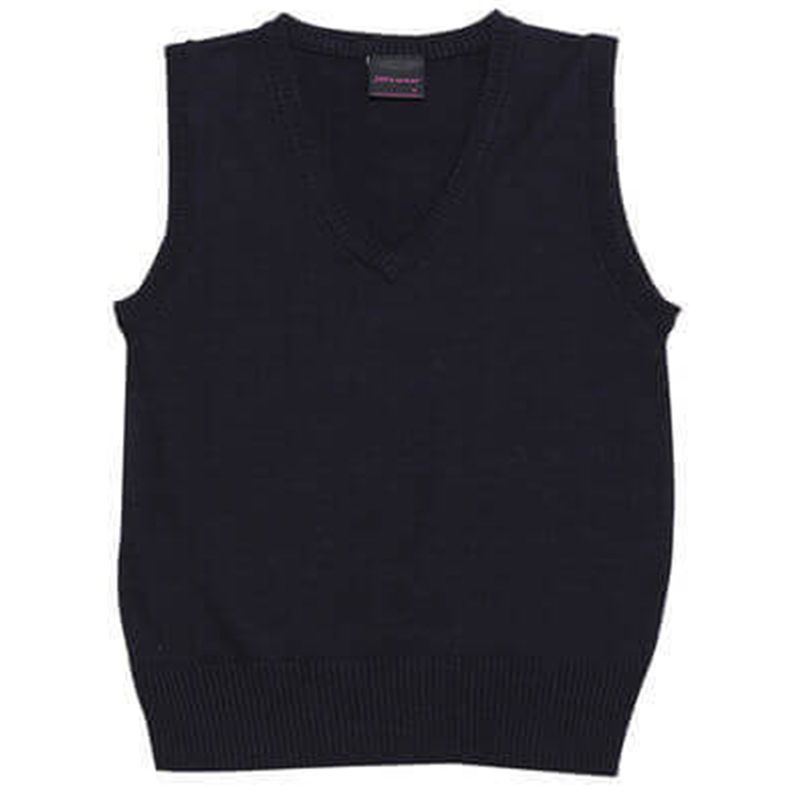 Ladies Wool Mix Vest Navy