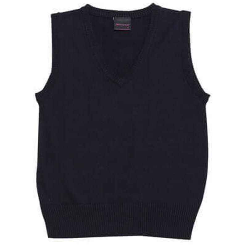 Ladies Wool Mix Vest Navy