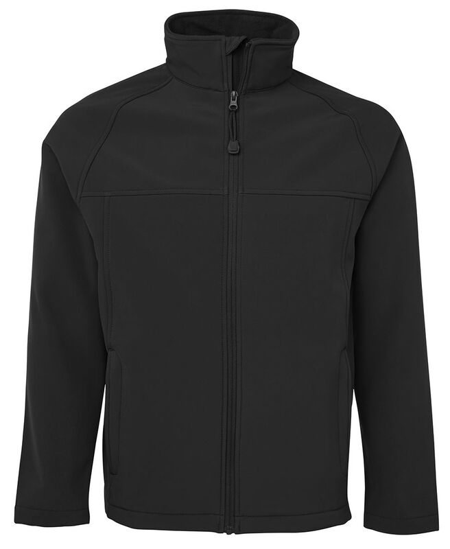 Layer Soft Shell Jacket Black