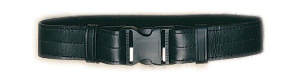 Leather Equipment Belt Black