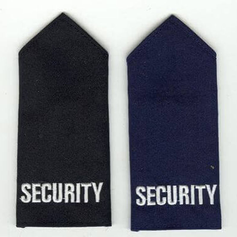 Long Length Security Epaulette Black or Navy