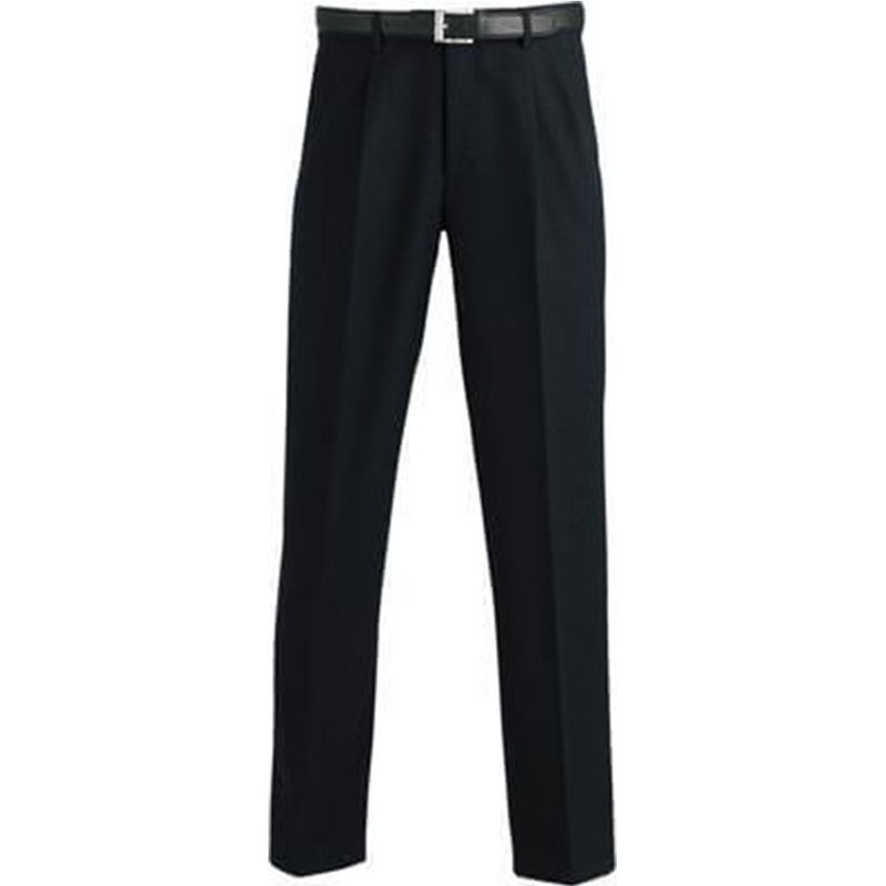 Men's Security Trousers Permanent Press Black