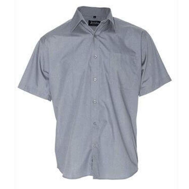 Mens Business Shirt Grey
