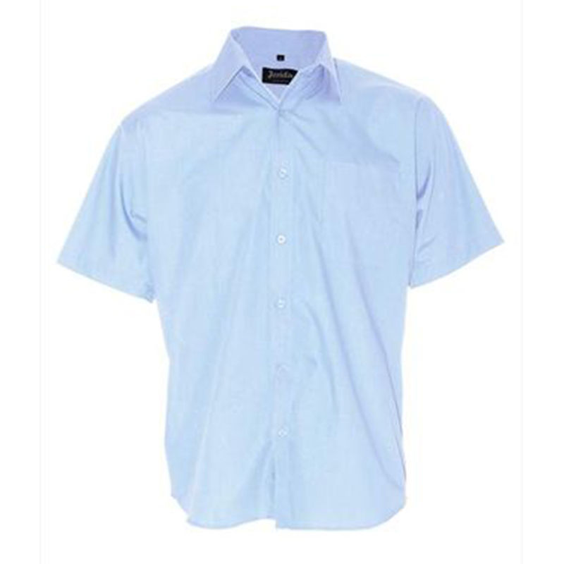 Mens Business Shirt Light Blue