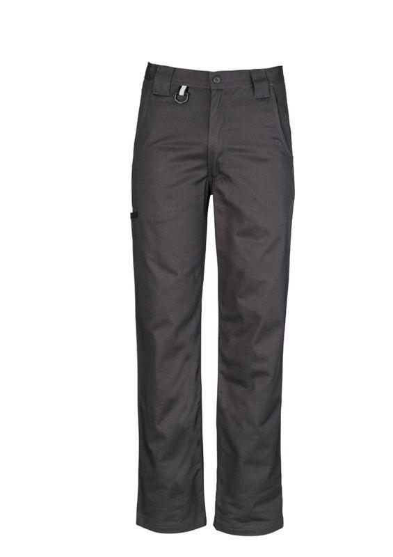 Mens Plain Utility Pant Charcoal