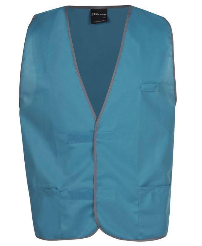 Plain Coloured Vest Aqua from Murray Uniforms AU