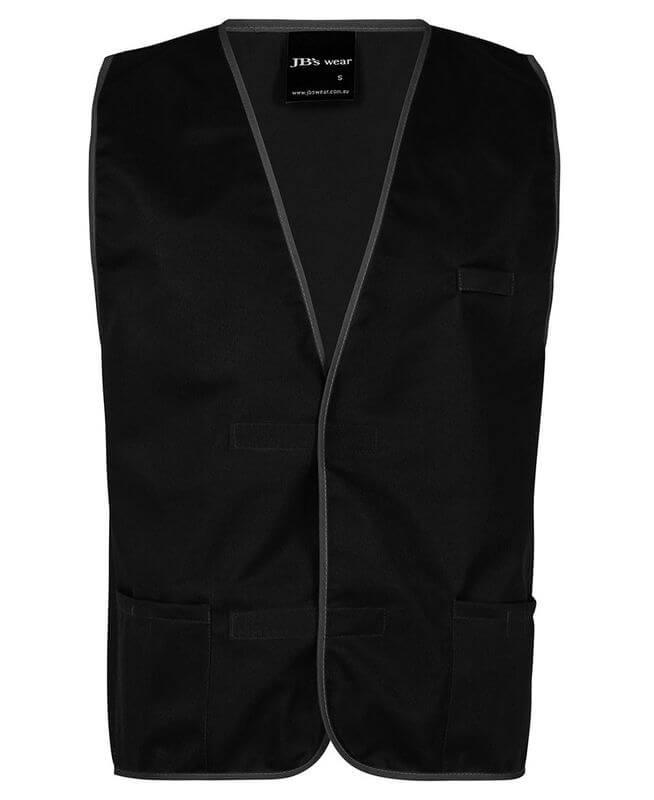 Plain Coloured Vest Black