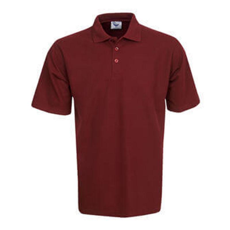 Polo Premium Fine Pique Knit Maroon