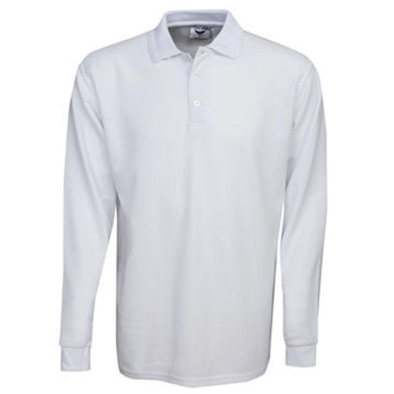 Premium Long Sleeve Pique Polo