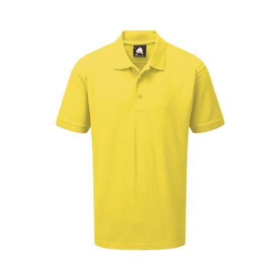 Premium Poloshirt Yellow