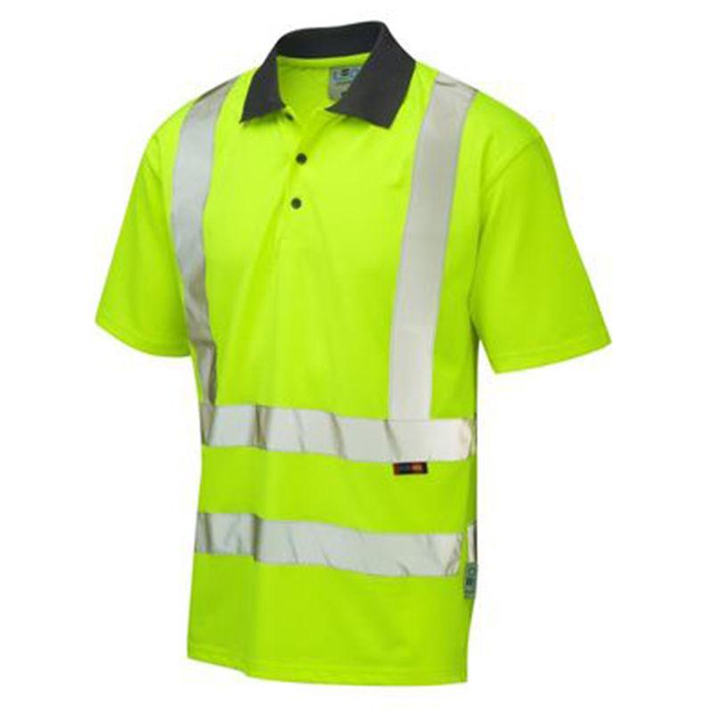 Recycled Coolviz Polo Shirt Yellow