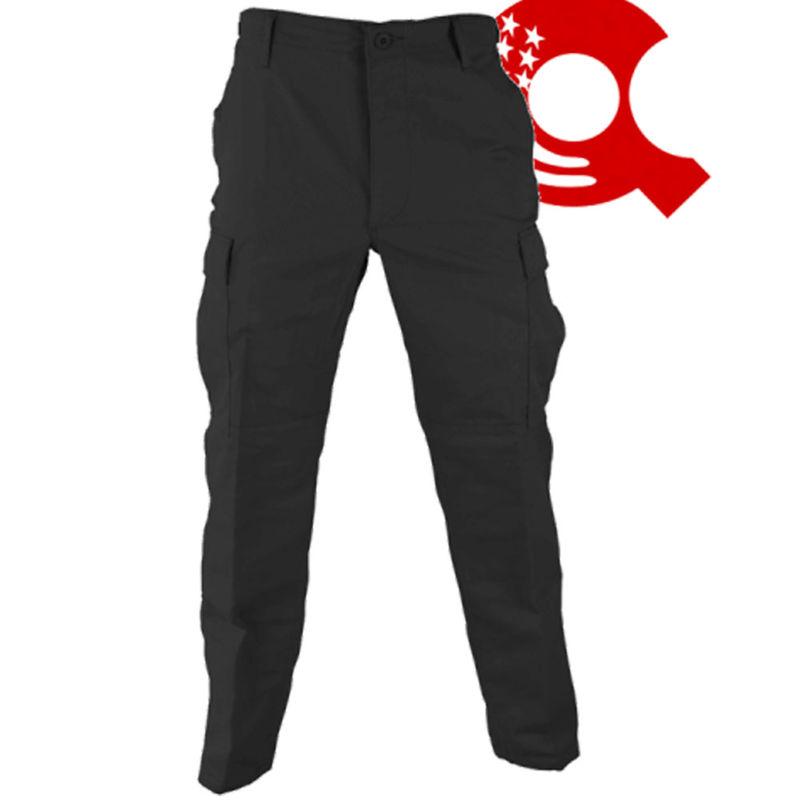 Security BDU Cargo Trousers Black