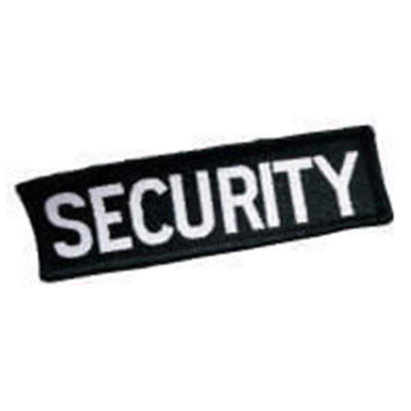 Security Badge Black