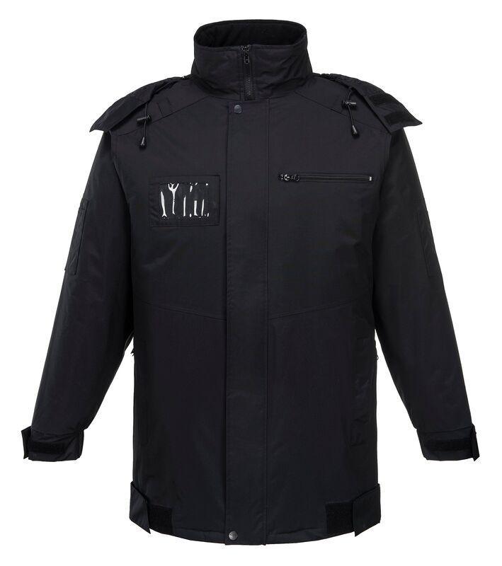 Security Jacket Black Front
