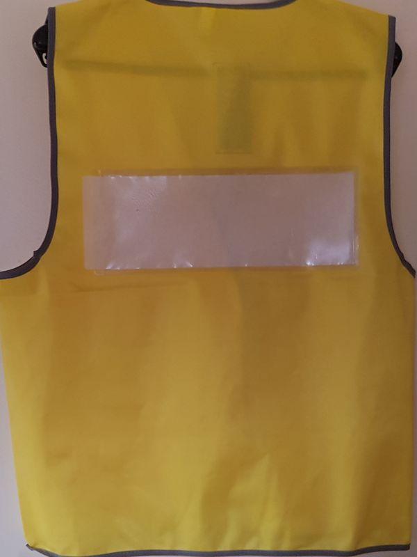 Sew on Plastic Pocket