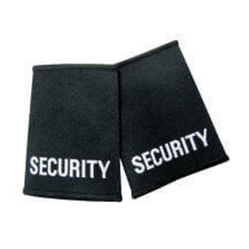 Short Length Security Epaulette Black