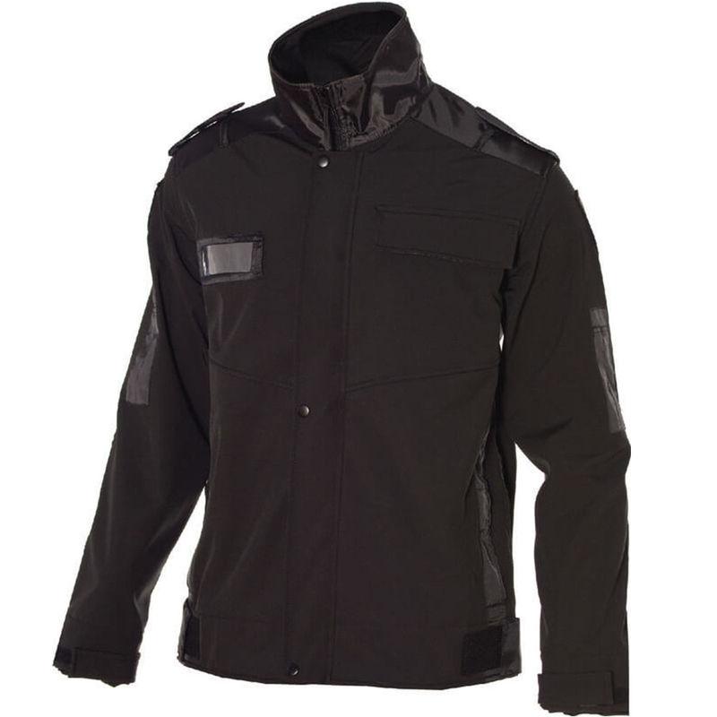 Softshell Epaulette Jacket Black